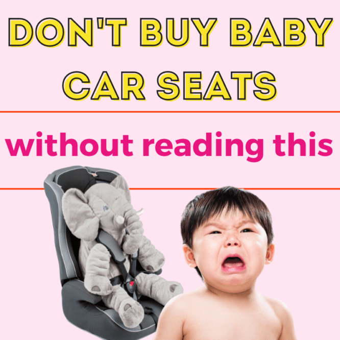 baby car seats in singapore
