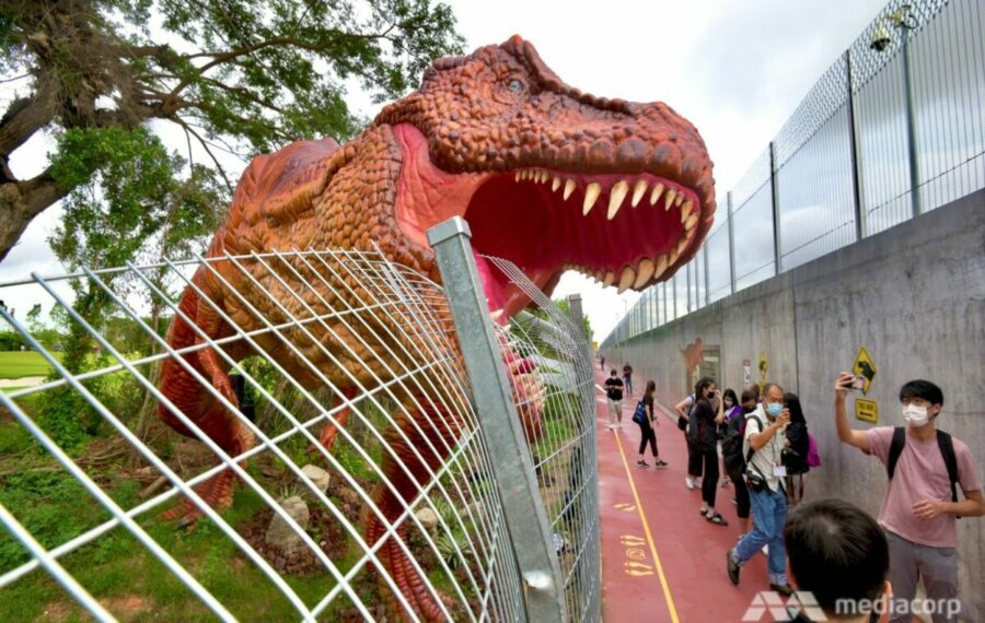 Fun Things To Do With Kids In Singapore on Weekends Changi Jurassic Mile