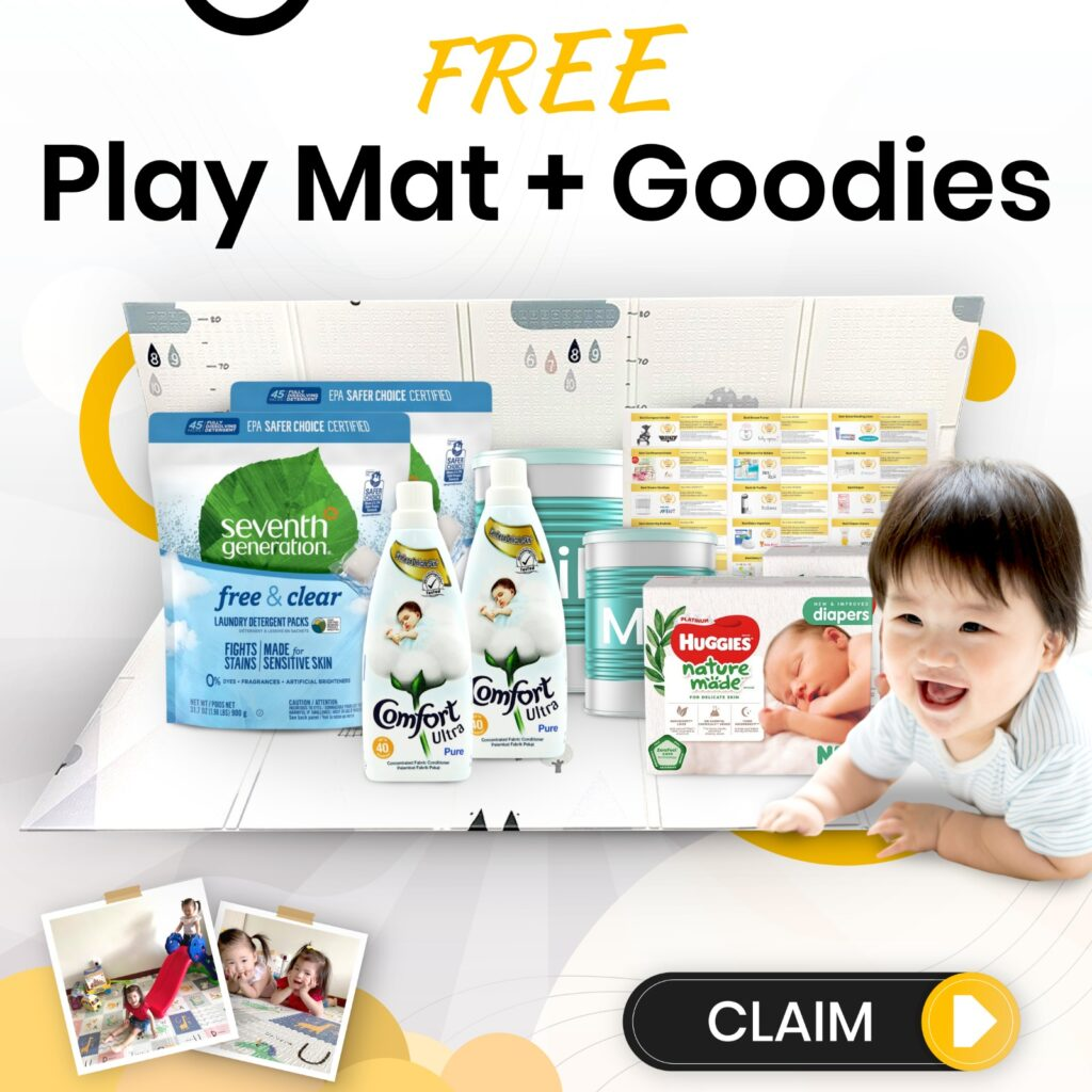 Free baby play mat toddler claim now