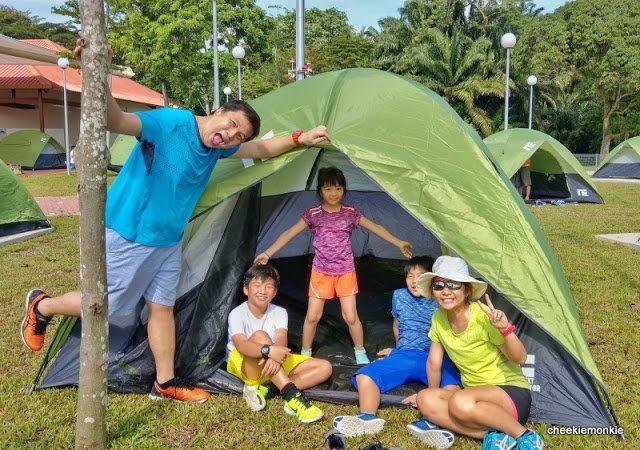 10. Camping at East Coast Park