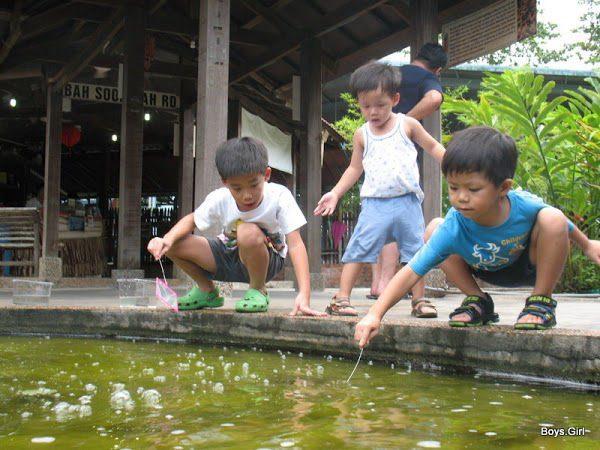 6. Longkang Fishing at Qian Hu Fish Farm