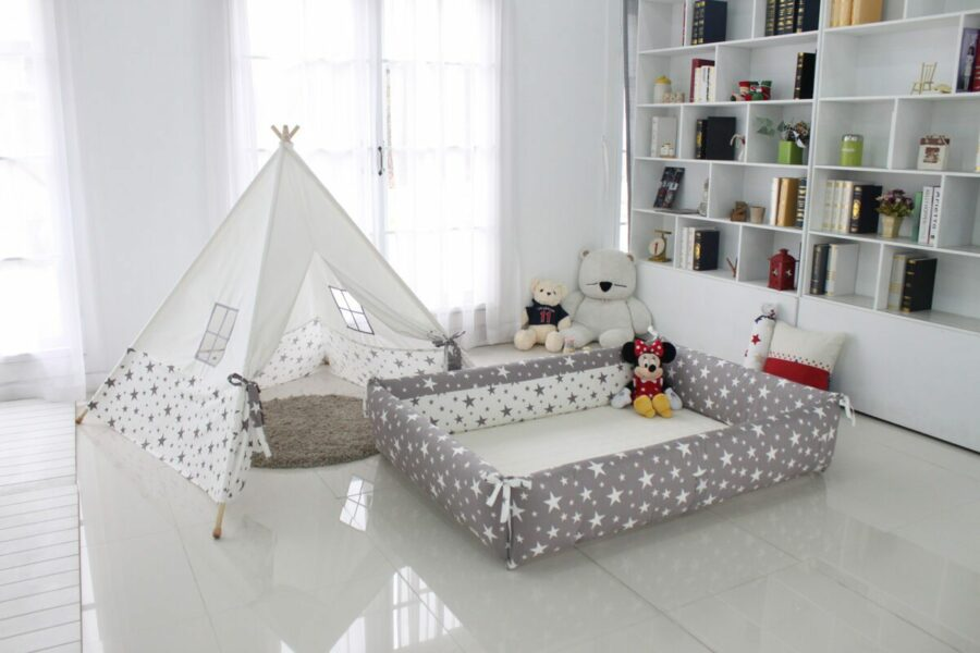 AGUARD Bumper Bed in Twinkle (M) - Reviewed By SuperMom