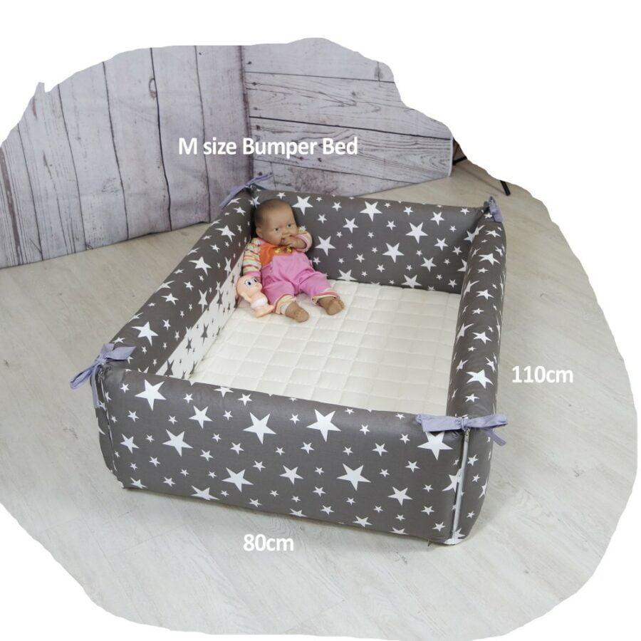 AGUARD Bumper Bed in Twinkle (M) bumper size