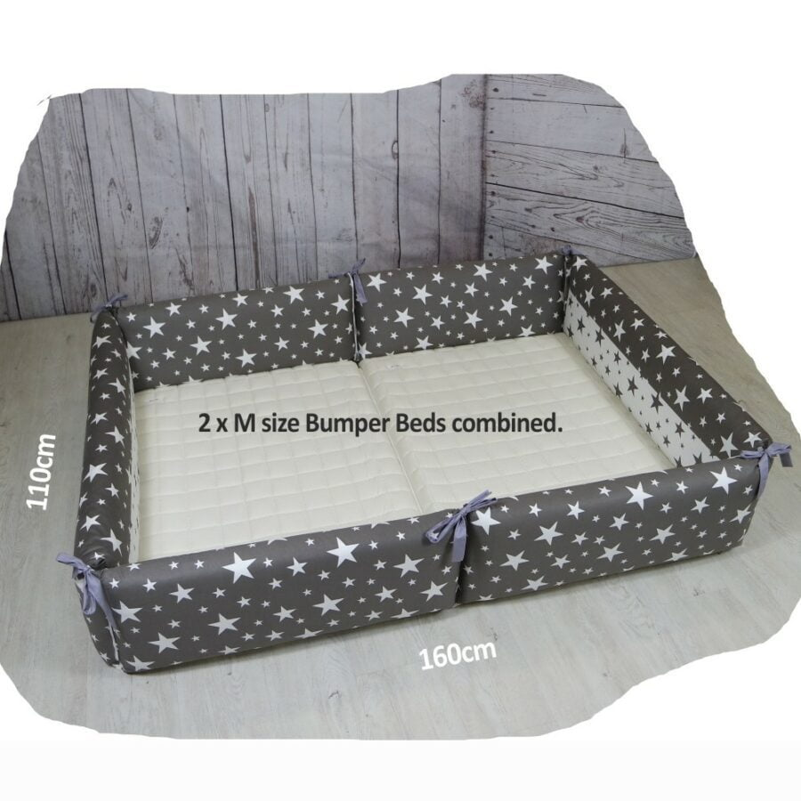 AGUARD Bumper Bed in Twinkle two m size combined