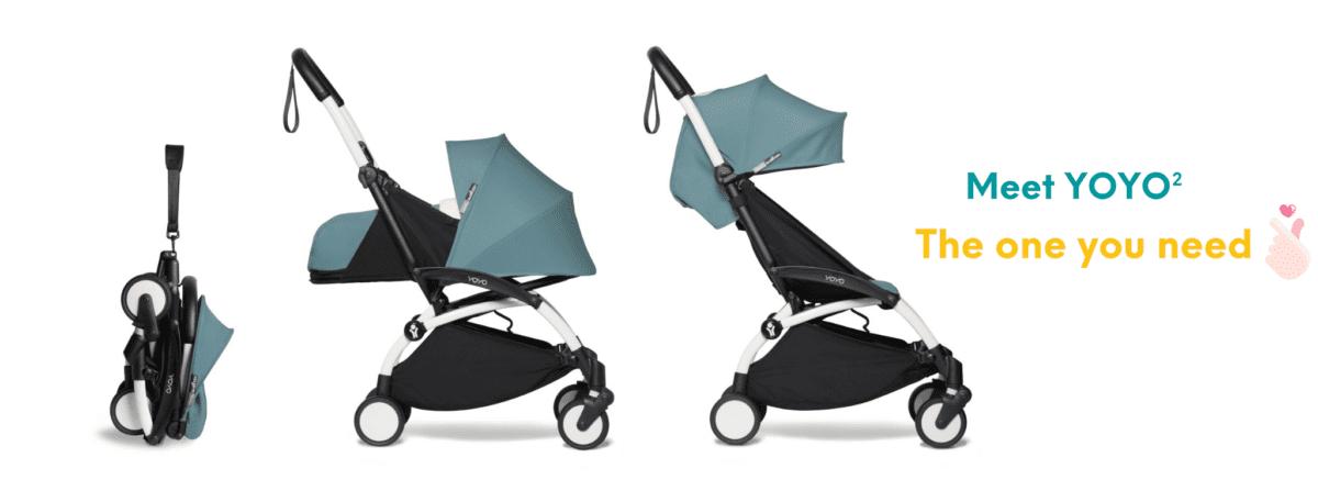Babyzen YOYO² World's First Luxury Travel Stroller