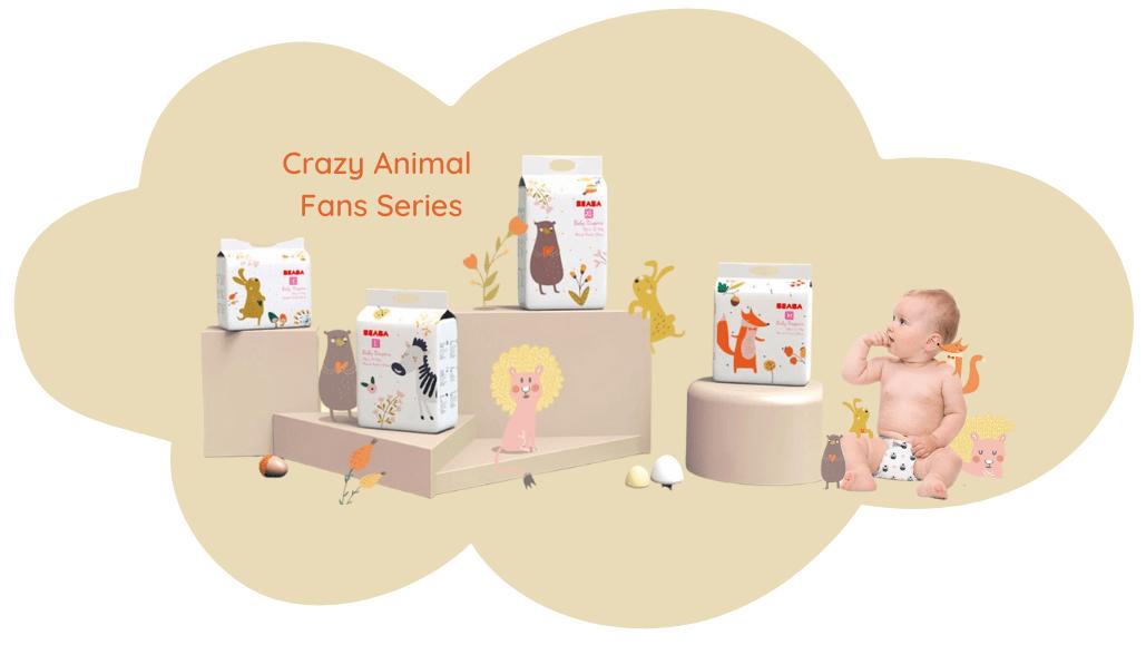 Baeba's Crazy Animal Fans Series