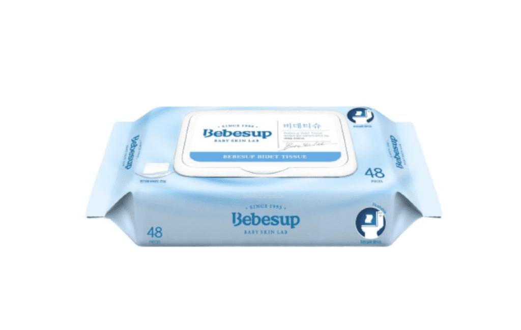 Bebesup Flushable Bidet Wet Tissue