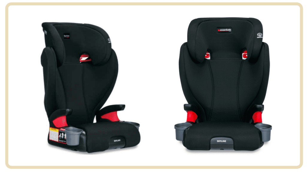 Best Baby Car Seats in Singapore Under $300 - Britax Skyline Backless Booster Car Seat