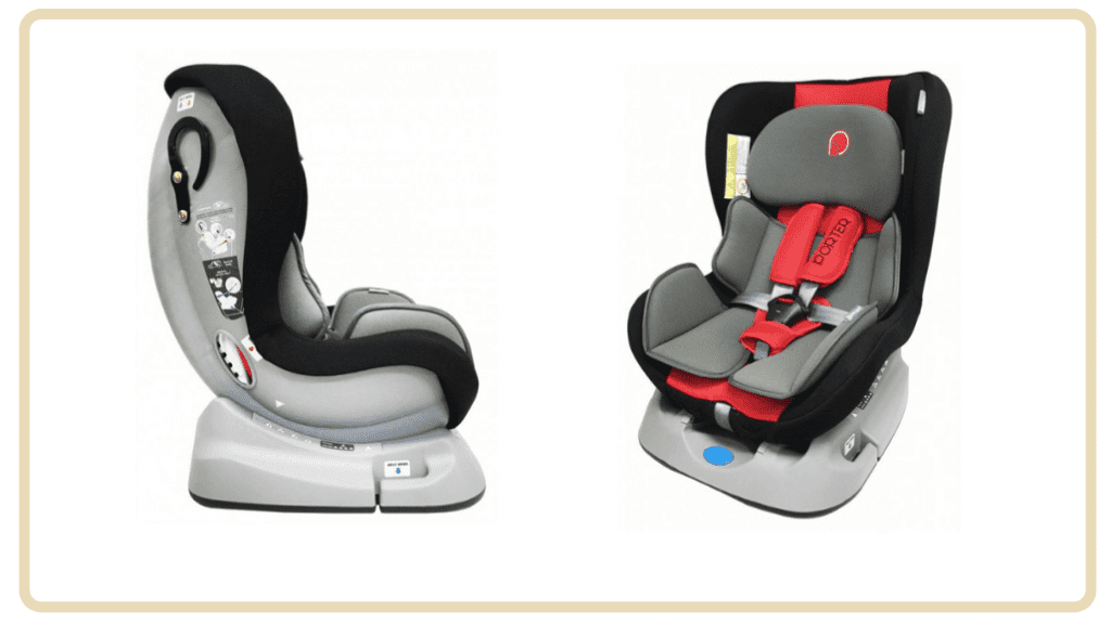 Best Baby Car Seats in Singapore Under $300 - Lucky Baby Porter Safety Car Seat