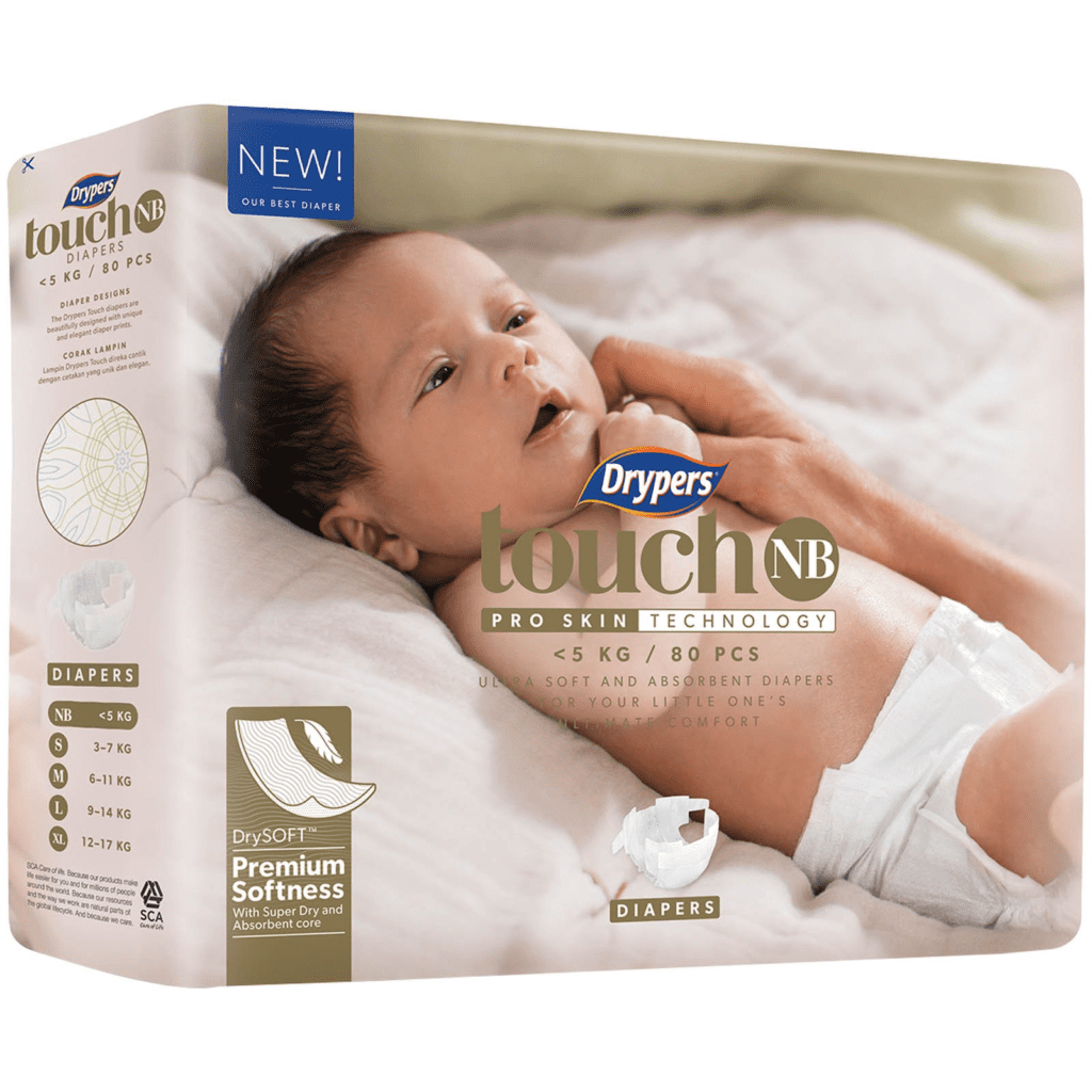 Best Disposable Baby Diapers - Drypers Touch