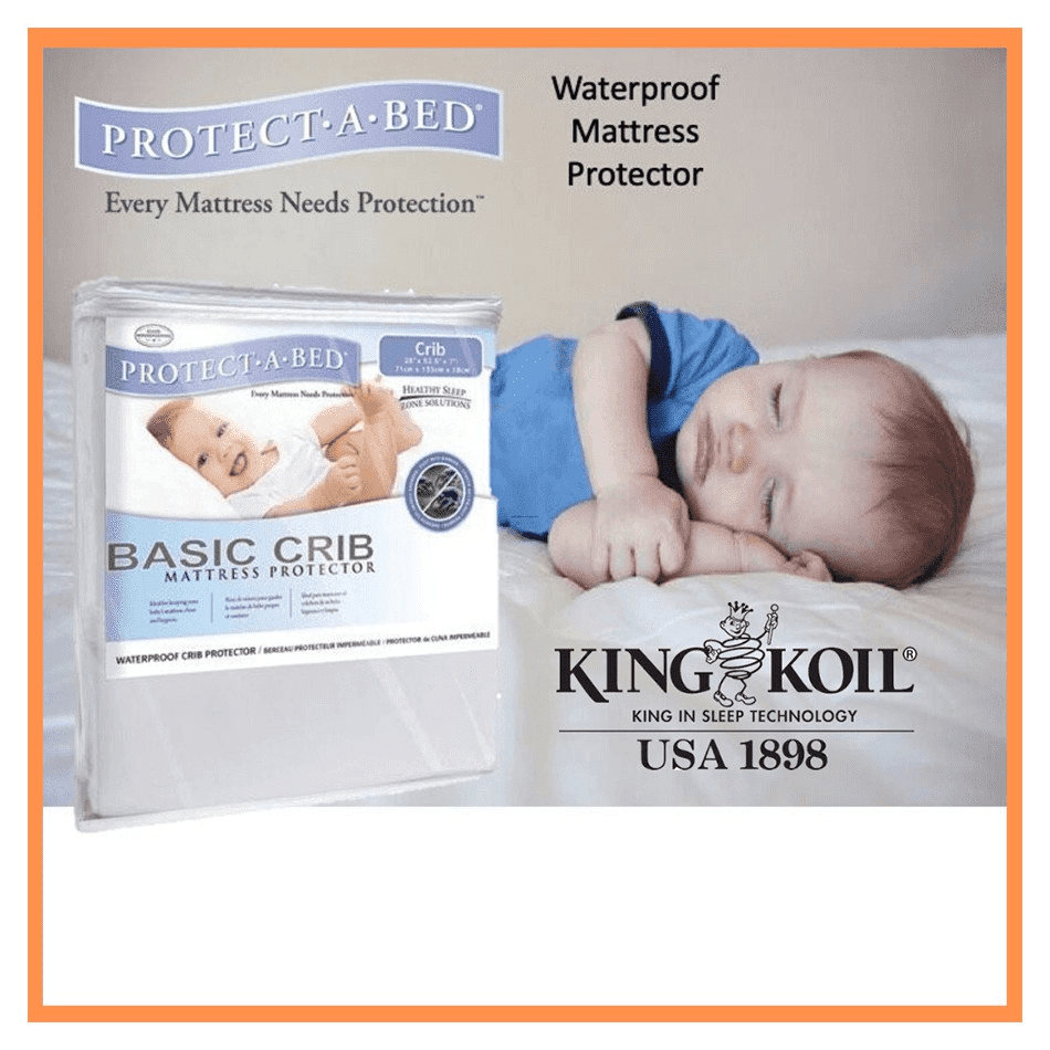 Best Nursery Essentials - Protect-a-Bed Waterproof Mattress Protector