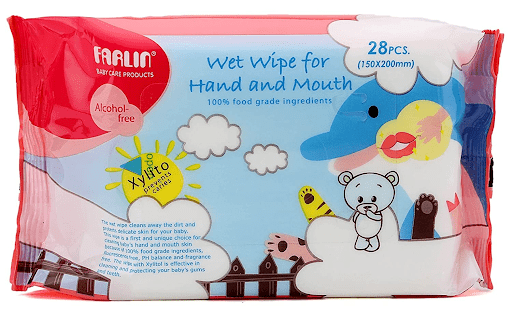 Best Selling Baby Wipes - Farlin Wet Wipes for Hand and Mouth