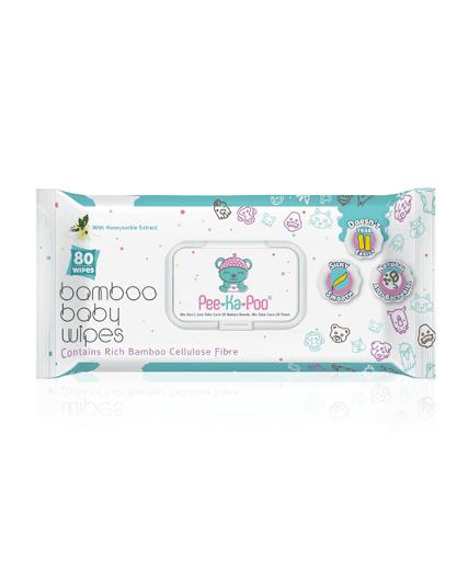 Best Selling Baby Wipes - Pee-Ka-Poo Honeysuckle Extract Wet Wipes