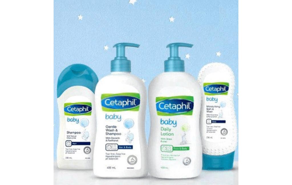 Cetaphil Baby Wash and Shampoo Ultra Moisturizing Bath And Wash Lotion