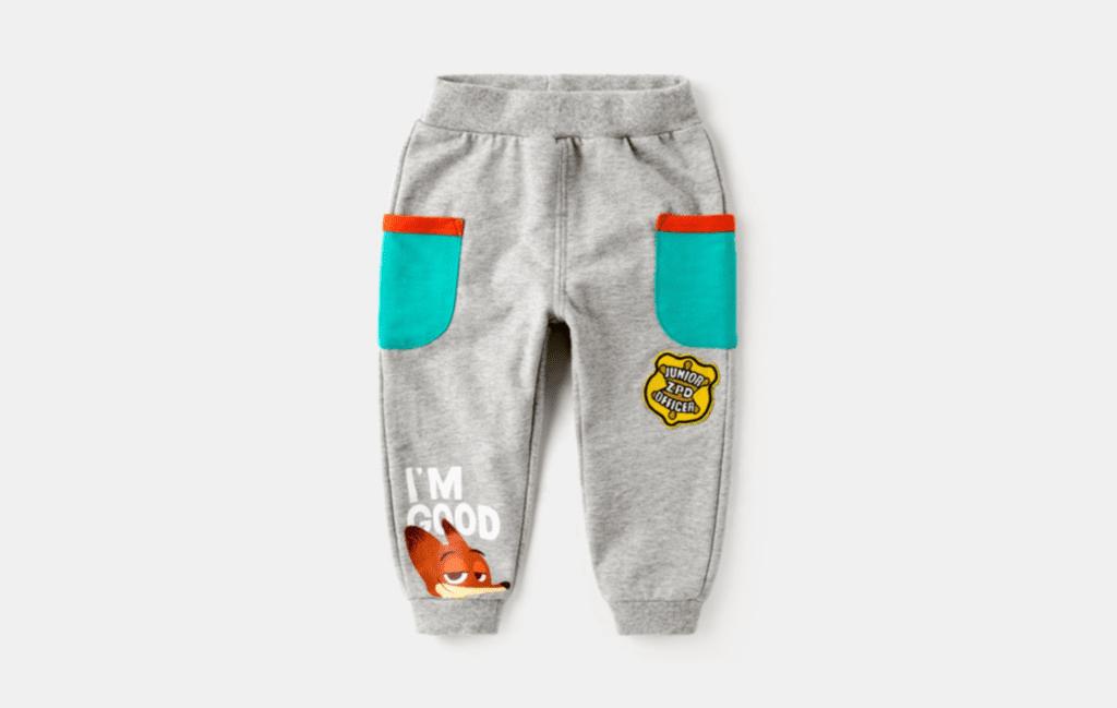 Disney Cartoon Child Pants