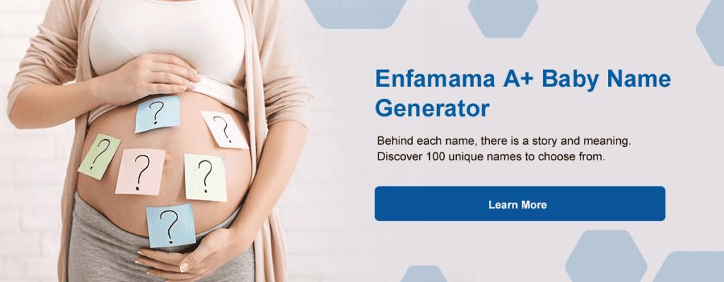 Enfamama A+ Baby Name Generator