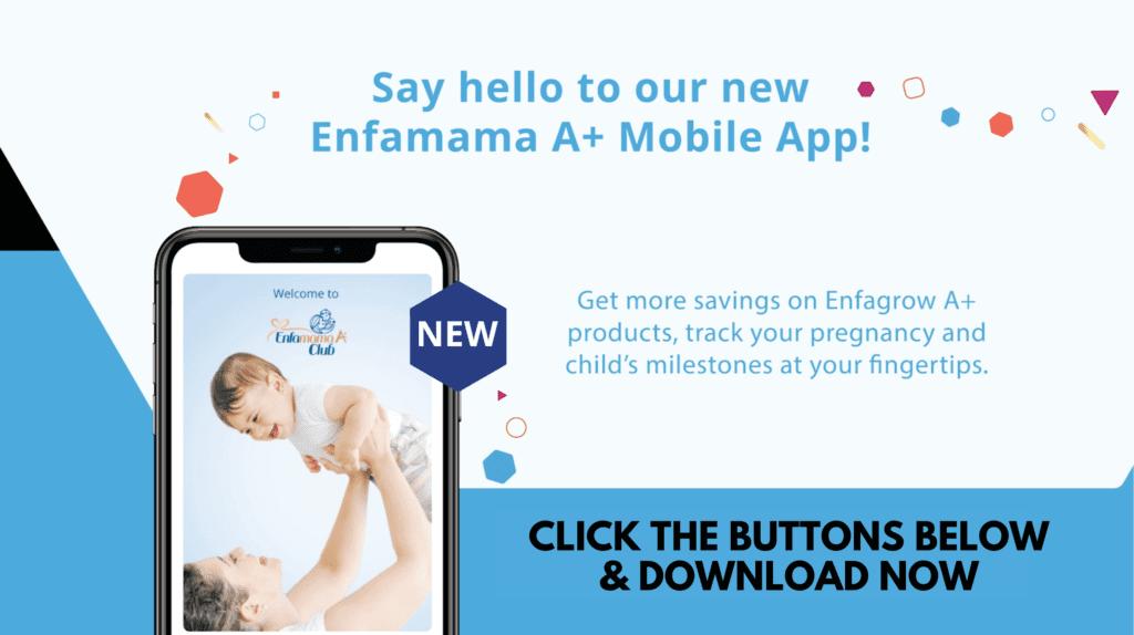 Enfamama A+ mobile app
