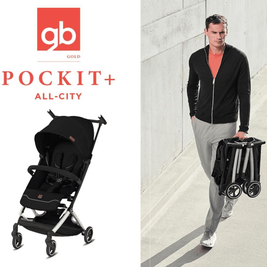 GB Pockit+ All City Stroller 2020 New Version - GB Pockit logo