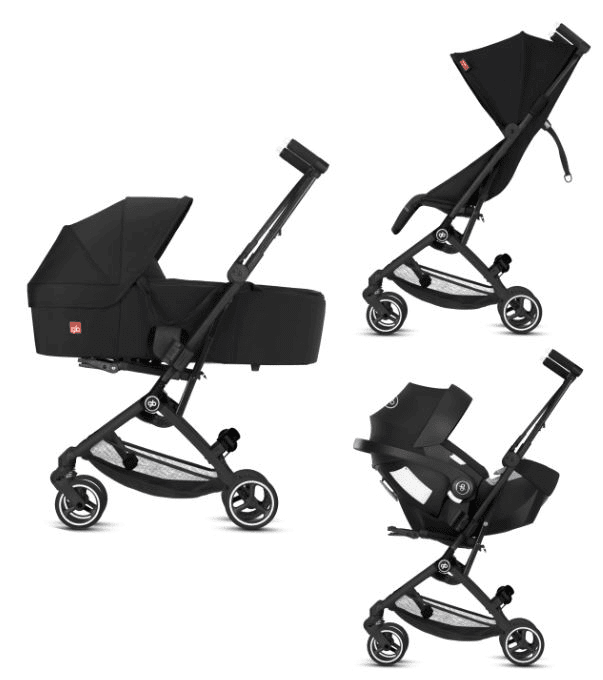 GB Pockit+ All City Stroller 2020 New Version has 3-in-1 Travel system