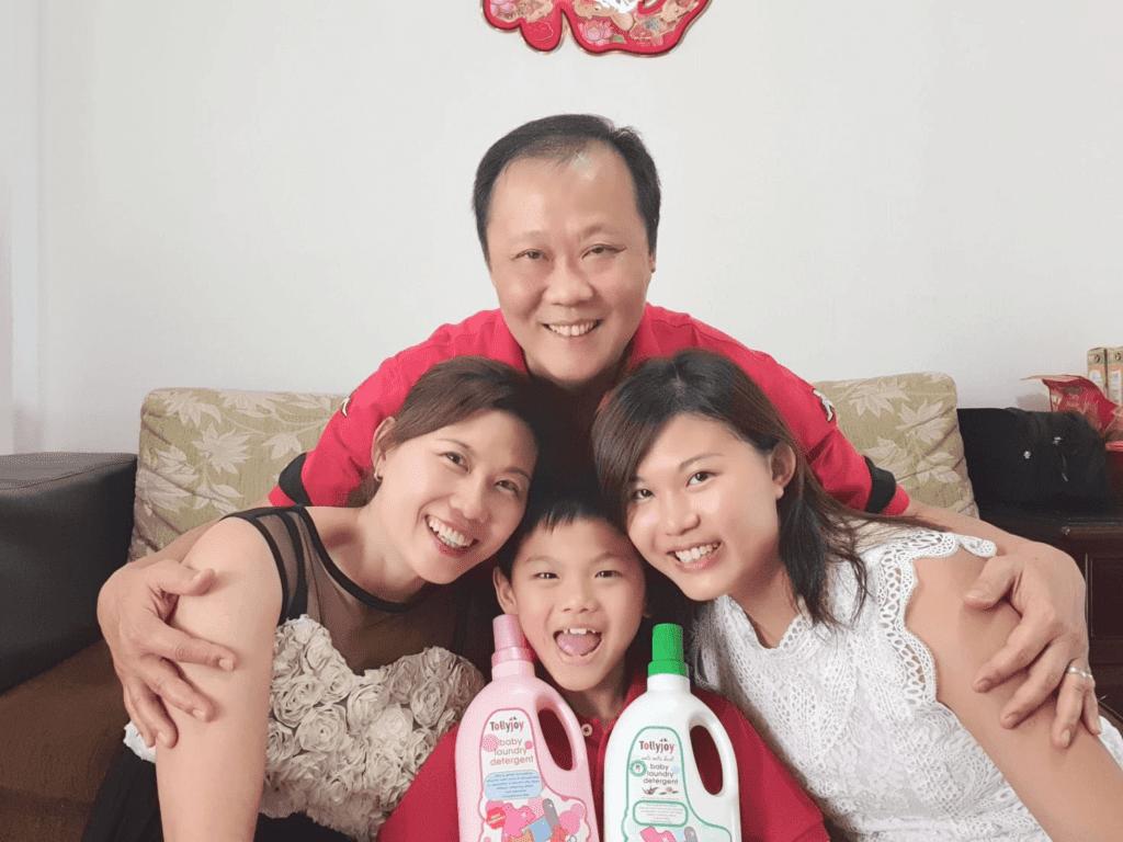 Grandpa Goh Family Tollyjoy