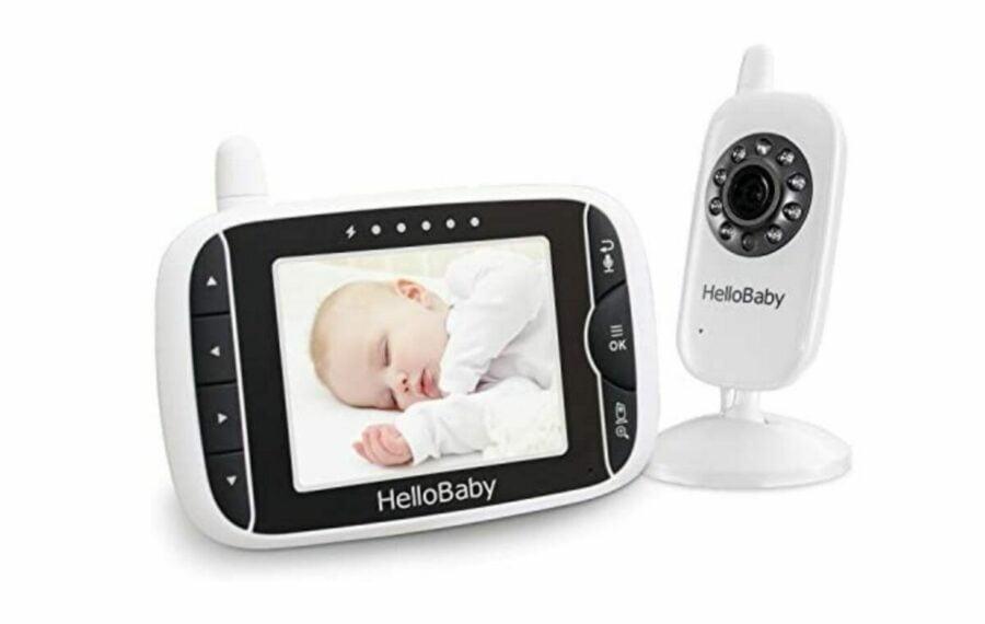 HelloBaby HB32 Wireless Digital Video Baby Monitor