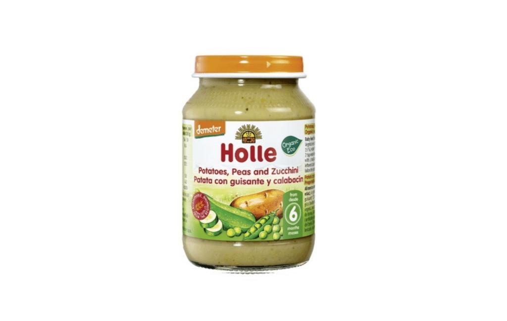 Holle Organic Baby Jar - Potatoes, Peas and Zucchini