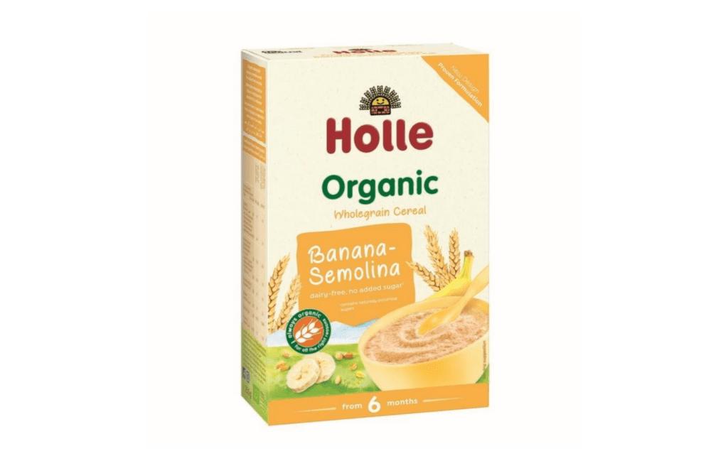 Holle Organic Wholegrain Cereal Banana-Semolina