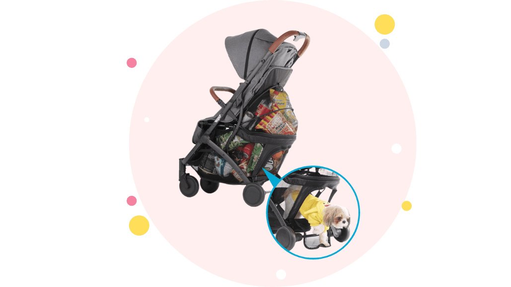 Keenz Air Plus 2.0 Stroller with Large storage