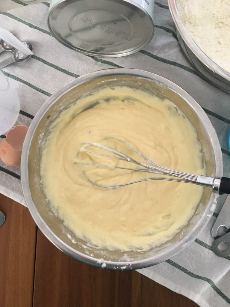 Kendamil Homade Pancake - beat smooth with whisk or fork