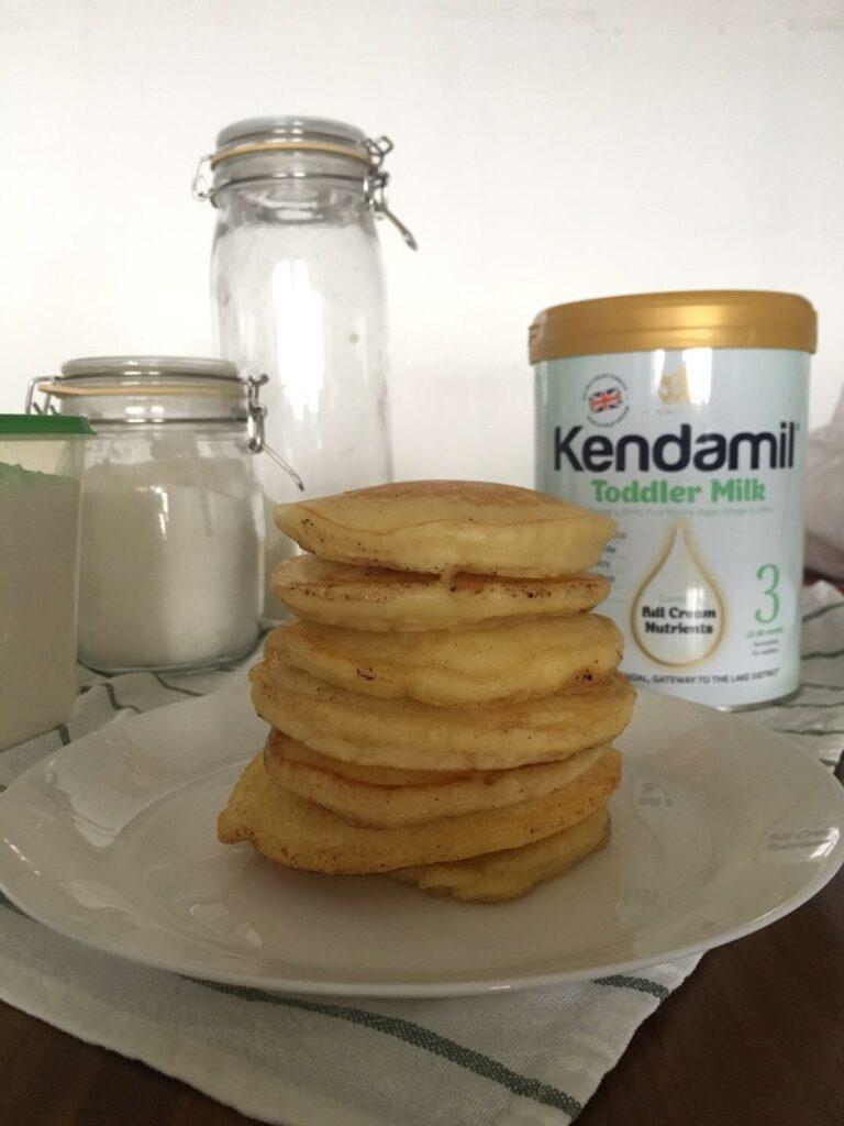 Kendamil Homade Pancake - pancake ready to be served