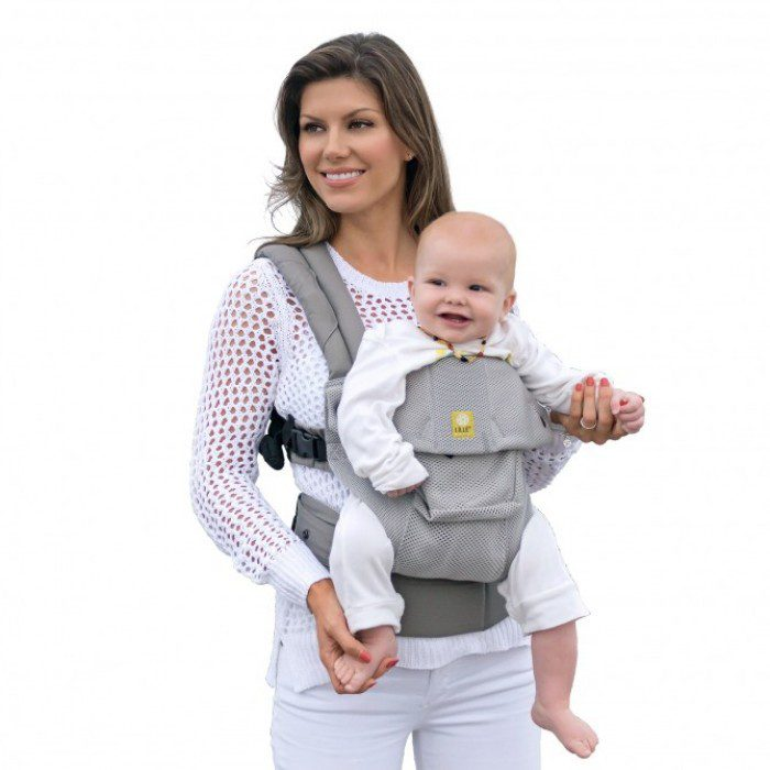 Liliebaby Complete 6in1 Airflow Breathable 3D Mesh Baby Carrier Mist