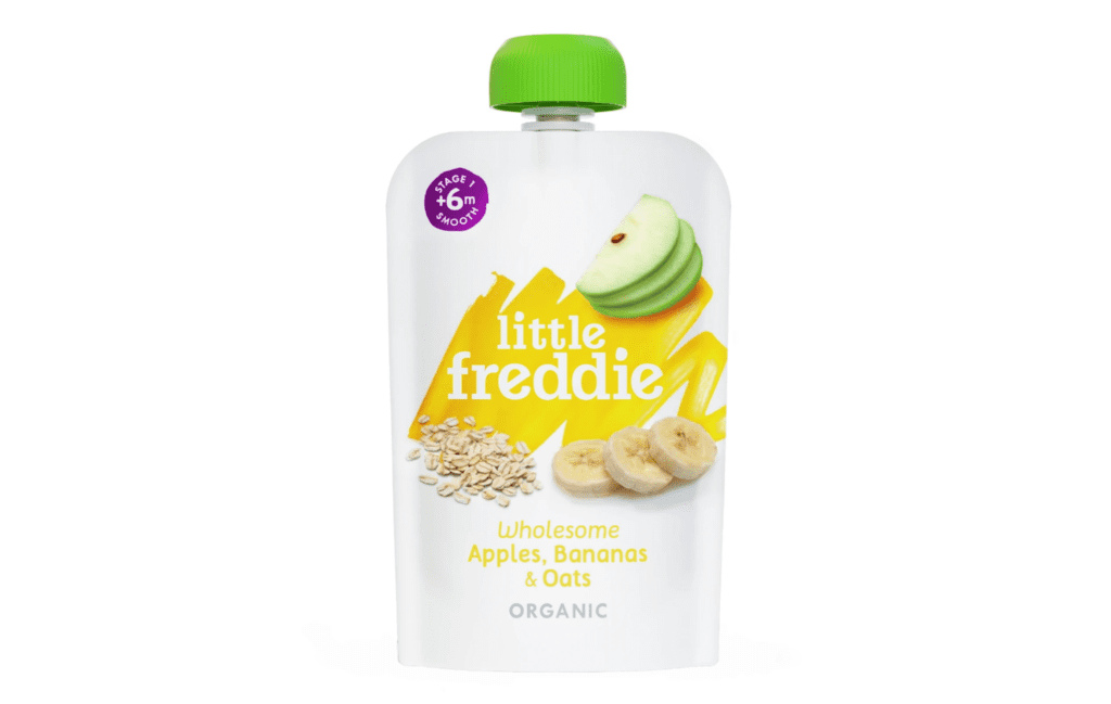 Little Freddie Wholesome Apples, Bananas and Oats