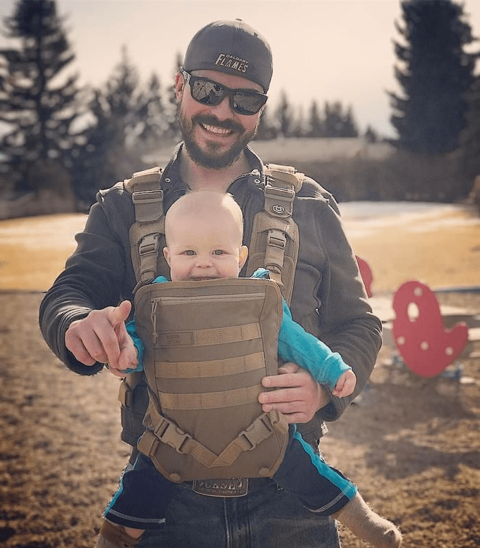 Mission Critical S.01 Action Baby Carrier