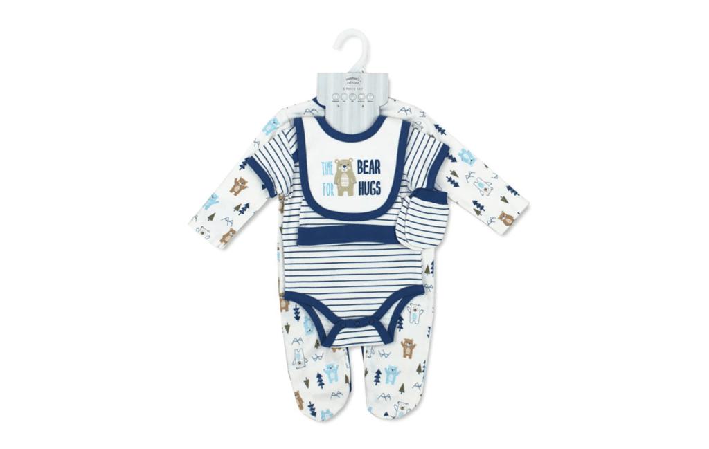 Mother's Choice Newborn Baby Cotton Bodysuits