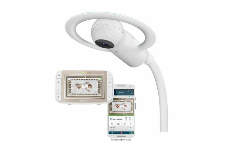 Motorola® Halo+ Over The Crib Baby Monitor & Sleep Companion