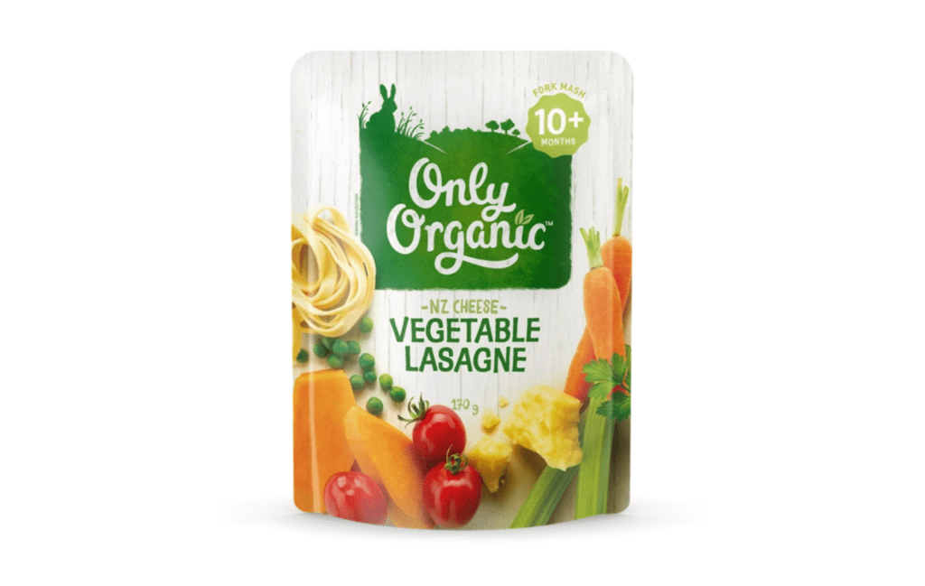 Only Organic Vegetable Lasagne