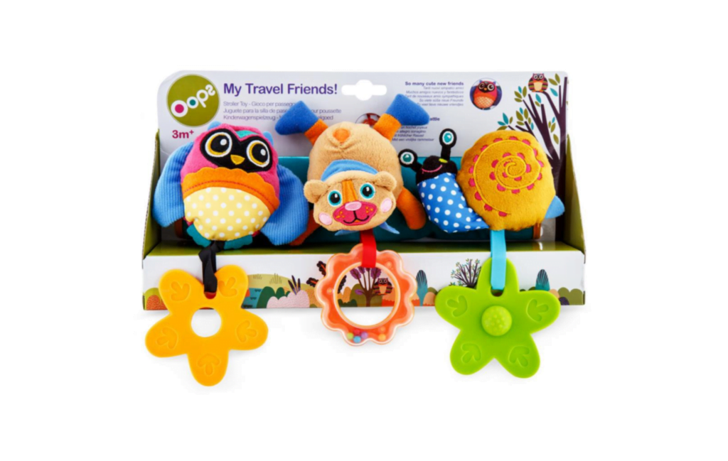 Oops My Travel Friends Stroller Toy