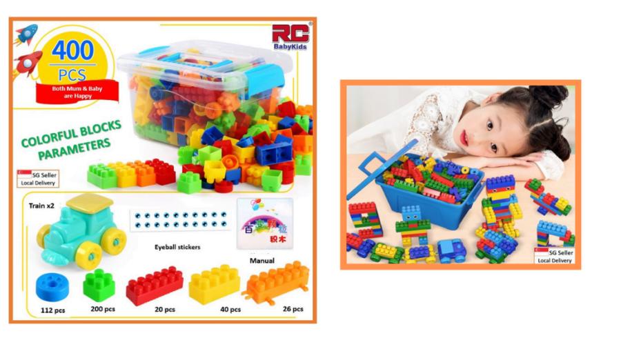 RC-BabyKids Educational Building Blocks