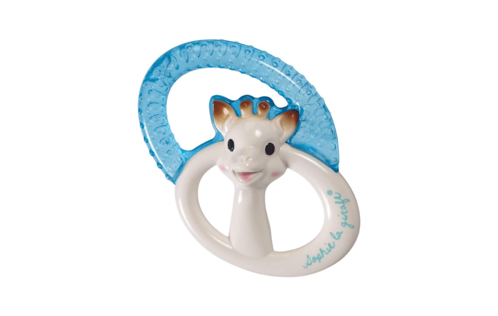 Sophie the Giraffe Cooling Teething Ring (1)