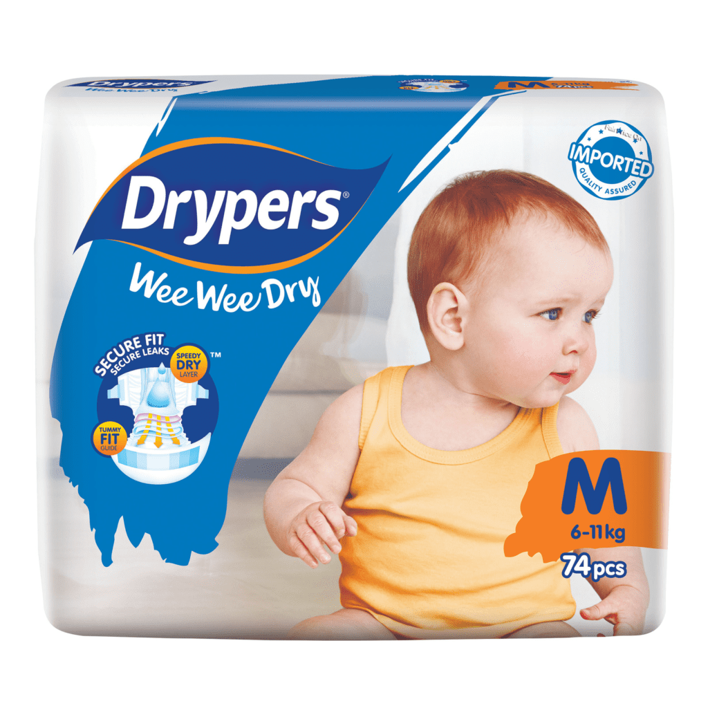 Super For Everyday Wear - Drypers Wee Wee Dry