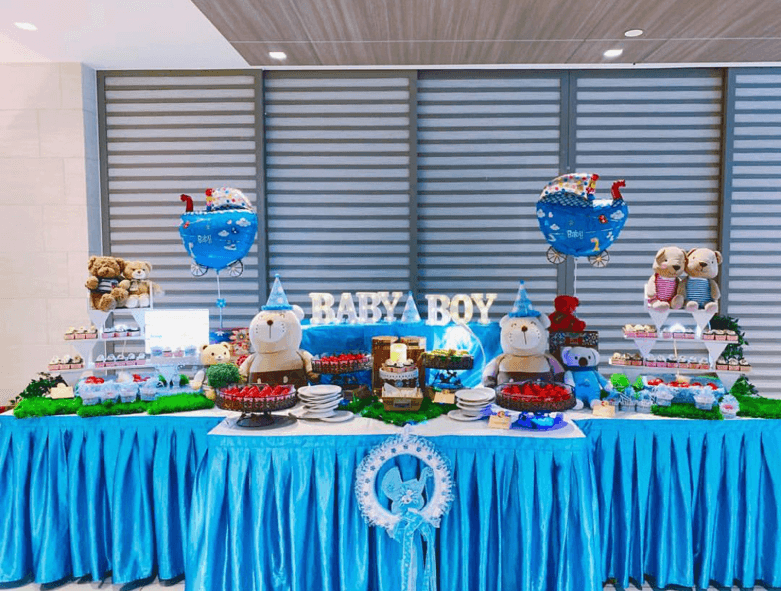 Why choose chilli api catering's baby shower