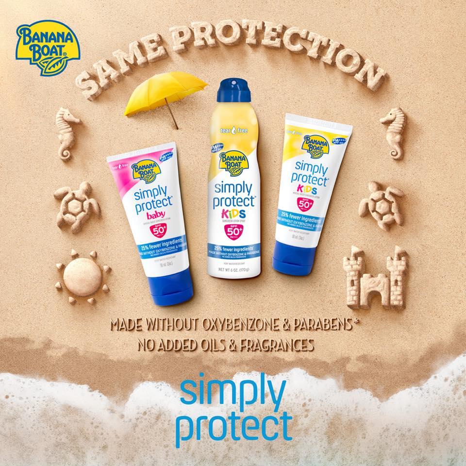 banana boat simply protect kids sunscreen