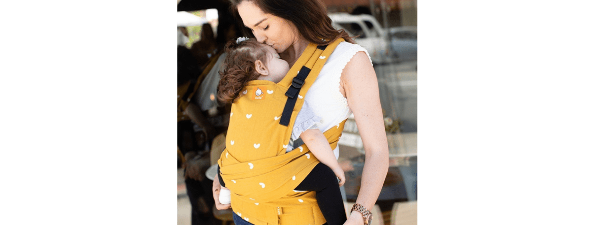 comfortable tula baby carrier