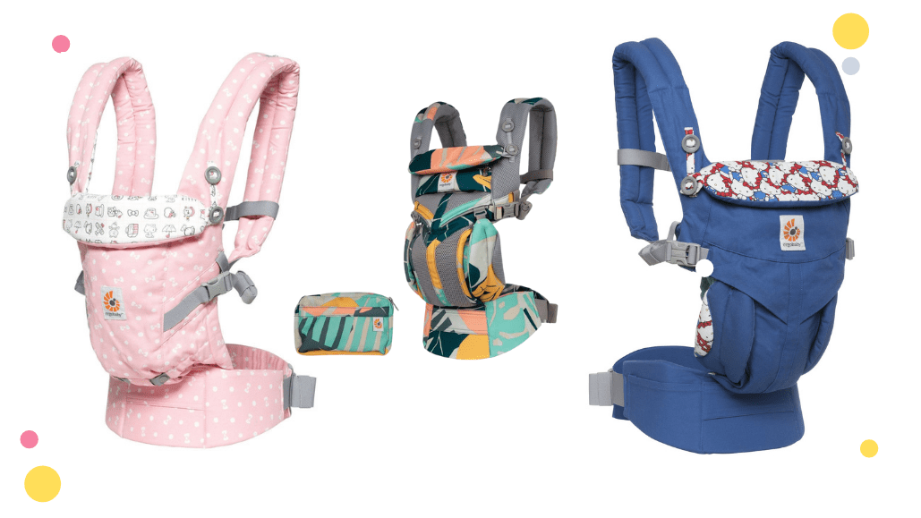 ergobaby carrier fun color and prints
