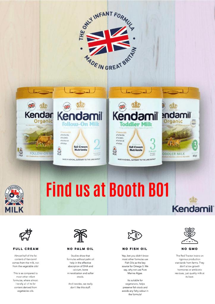 kendamil the only infant formula full cream