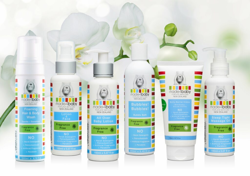 made4baby skincare for sensitive skin baby