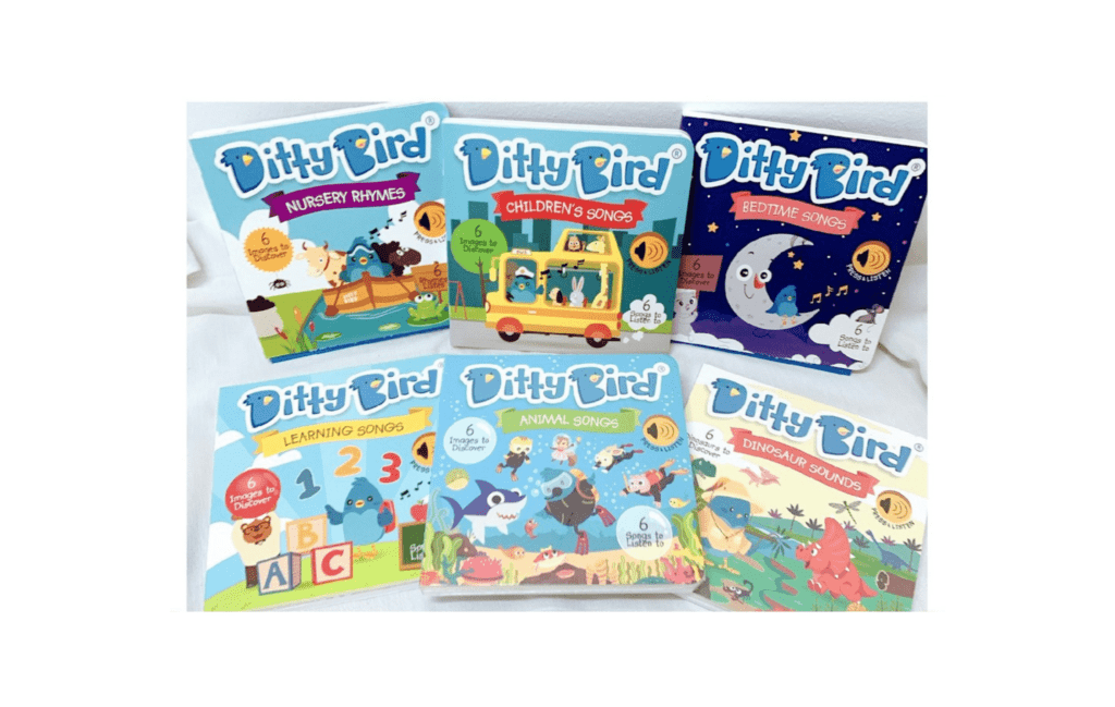 Ditty Bird Children Songs 6 Songs Audio Sound Book