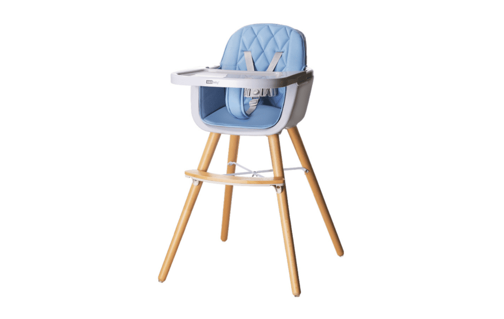 Opollo KEMbaby Series Scandinavian Design Adjustable Baby Feeding High Chair