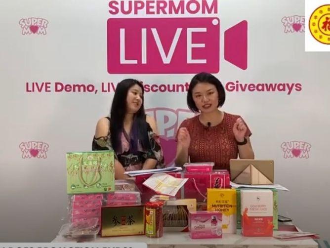SuperMom x HockHua Livestream