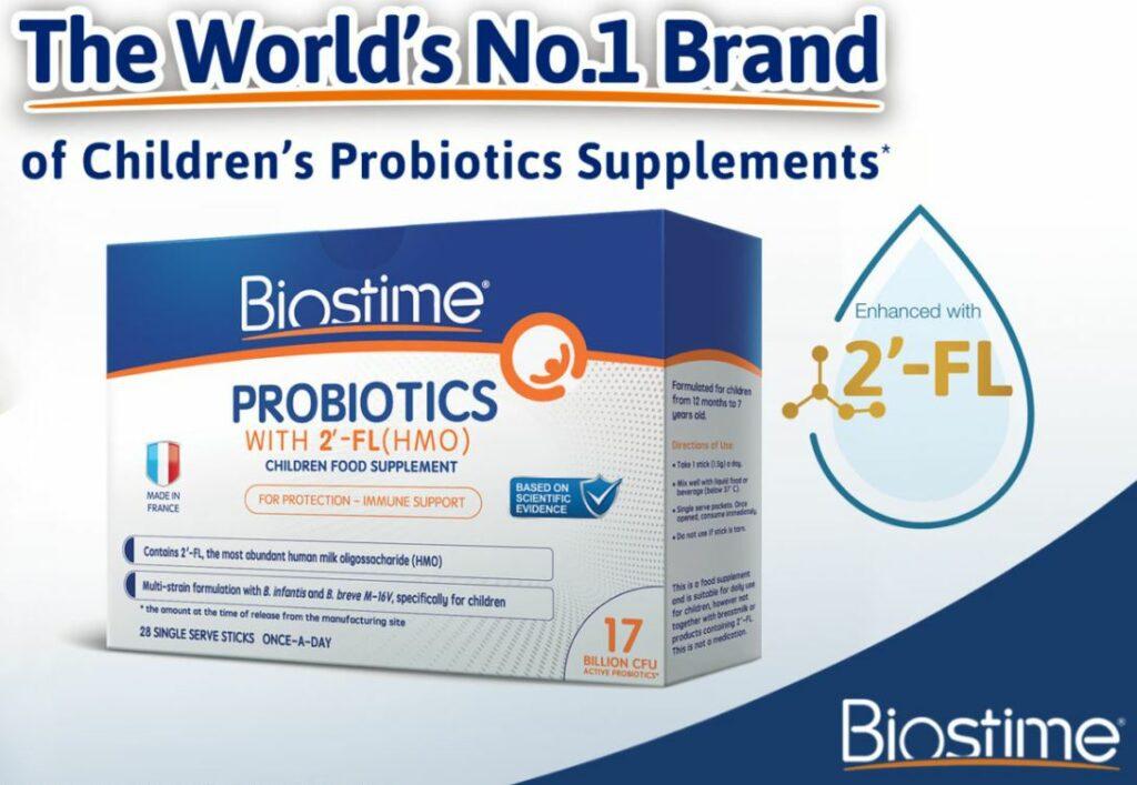 The World's No 1 Brand of Children's Probiotocs Supplements - Biostime Probiotics